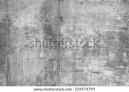 Grey concrete wall background texture.  - stock photo