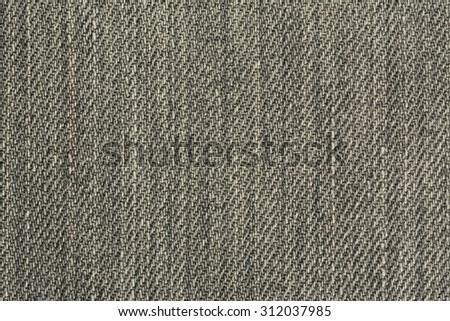 Grey Denim Background Horizontal Photograph - stock photo