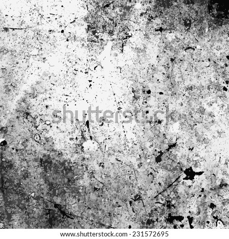 Grey Distress Texture for your design. - stock photo