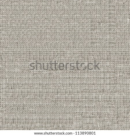 Grey fabric seamless pattern - texture background for continuous replicate. - stock photo