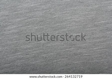 Grey fabric texture. Clothes background - stock photo