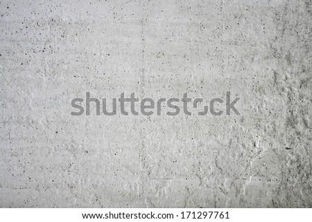 Grey grunge textured wall - stock photo