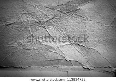 Grey grunge wrinkled background - stock photo