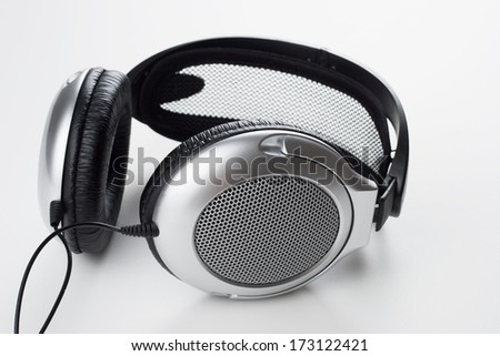 Grey headphones