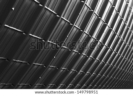 grey industrial plate texture (close up of patternt) backgorund - stock photo