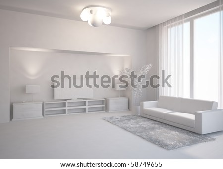 grey interior composition
