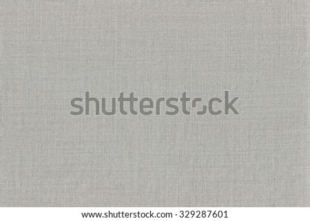 Grey Khaki Cotton Fabric Texture Background, Detailed Macro Closeup, Large Horizontal Textured Gray Linen Canvas Burlap Copy Space Pattern - stock photo