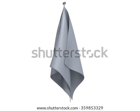 Grey kitchen cloth