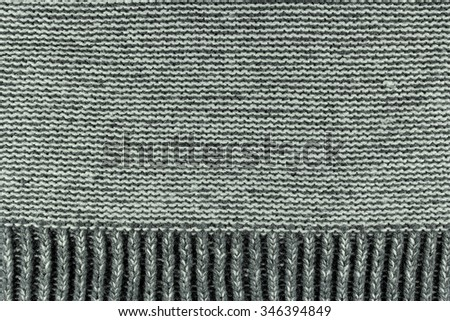 grey knitted fabric texture