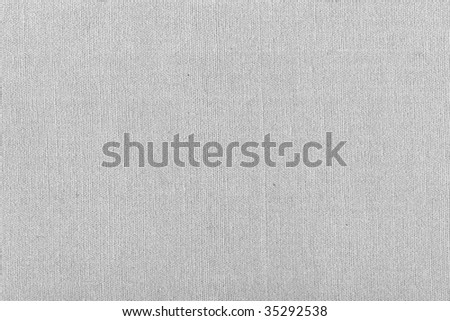 Grey linen texture in close-up - stock photo