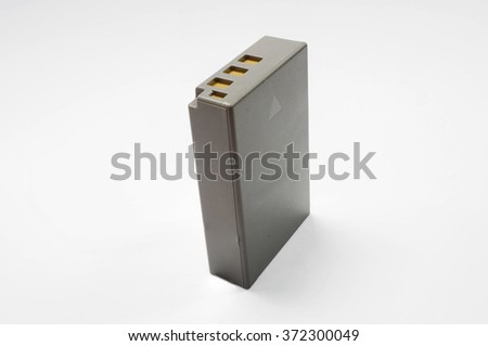 Grey Lithium Battery for Camera