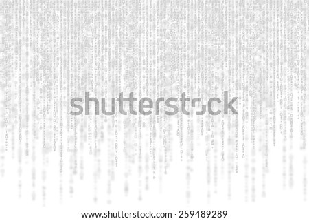 grey matrix with shadow on white background. - stock photo