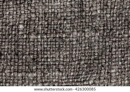 Grey 		Natural Textile Background / Canvas Fabric Textured Background.