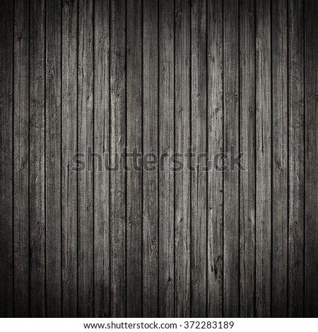 Grey or gray industrial wood grunge wall background - stock photo