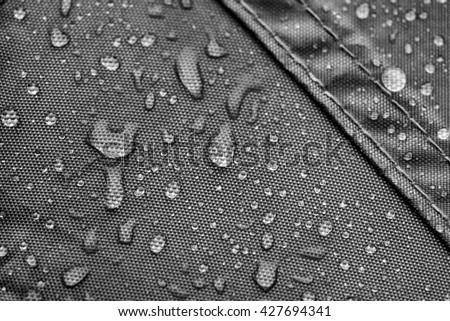 Grey rainproof tent sheet with rain drops & Canvas Tent Texture Stock snímky snímky pro ?leny zdarma a ...
