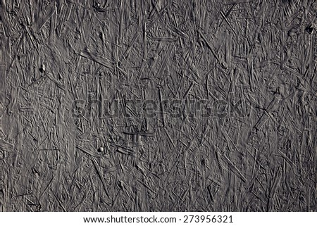 grey recycled compressed wood chipboard - stock photo