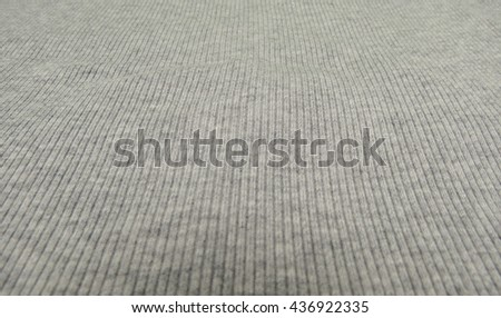 Grey ribbed cotton useful as a background - stock photo