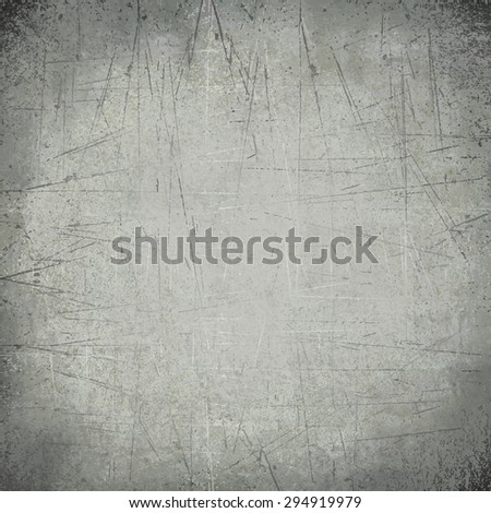 grey shiny scratches wall - stock photo