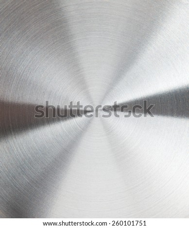 Grey shiny stainless steel metal background - stock photo