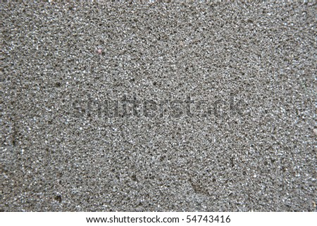 grey sponge close-up - stock photo