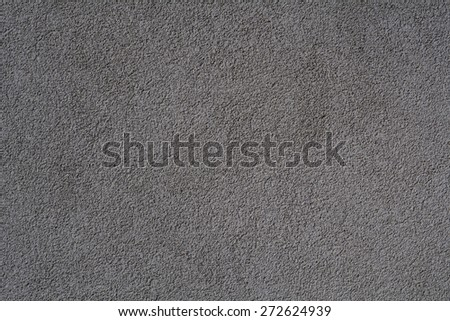 Grey textured background wall - stock photo