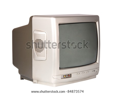 GREY TV on a white background