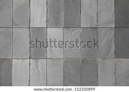 grey wall - stock photo