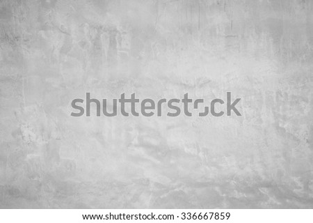 Grey wall for textured and backgrond. - stock photo