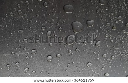 Grey water drop background
