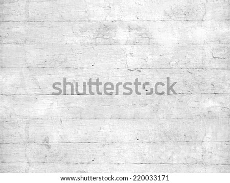 Grey white wooden planks background - stock photo