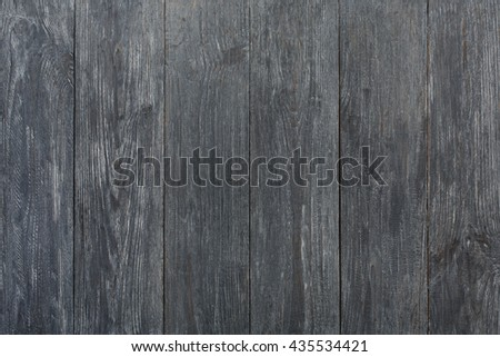 Grey wood texture and background. Grey blue wood texture background. Rustic, old wooden background. Aged wood planks texture pattern. Wooden surface. Vertical timber planks - stock photo