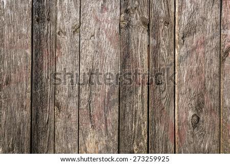 Grey wooden planks - stock photo