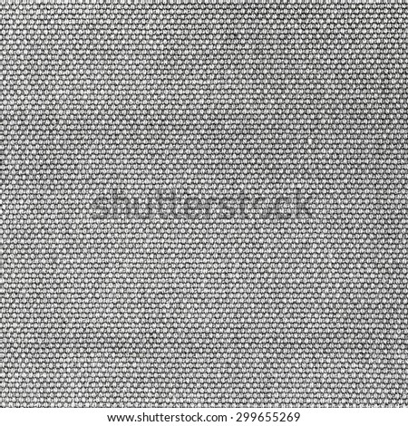 Grey woven fabric texture - stock photo