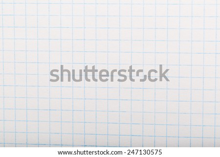 grid paper background - stock photo