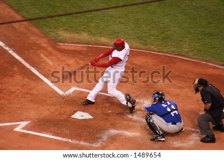 Griffey Jr.'s 550th home run on June 27th, 2006 - stock photo