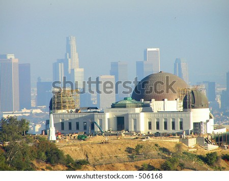 Griffith Observatory - stock photo