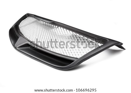 grill car on a white background