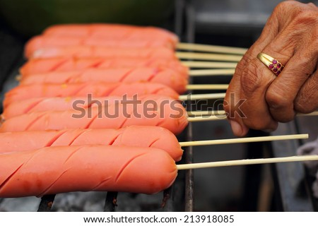 grilled sausage lot for sale