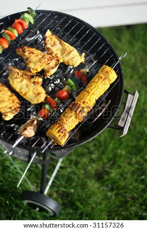 Grilling - stock photo