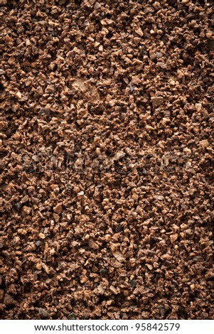 Grind coffee beans background