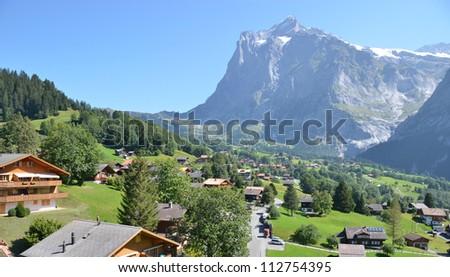 Grindelwald, Switzerland - stock photo
