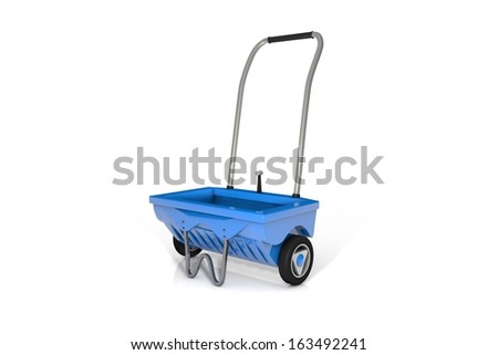 Gritter - stock photo