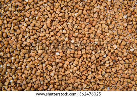 groats buckwheat good quality beans