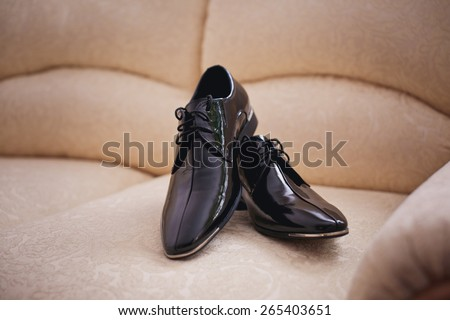 groom wedding shoe