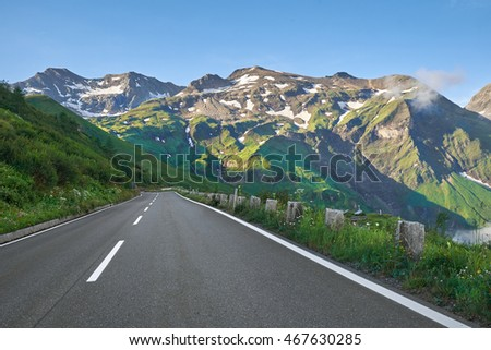 Grossglockner Austria - High Alpine Mountain Road -Hochalpenstrasse