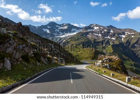 Grossglockner - High Alpine Road - stock photo