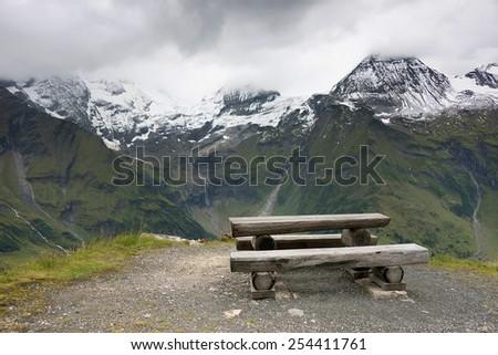 Grossglockner High Alpine Road, Austria, Europe - stock photo