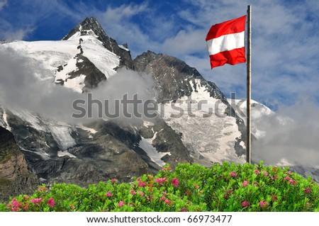Grossglockner, National Park Hohe Tauern, Austria - stock photo