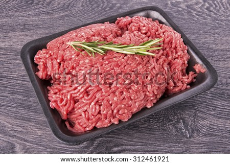 Ground beef - stock photo