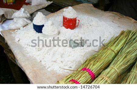 Ground Millet/Grain - stock photo